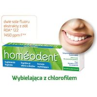 Boiron Homeodent wybielająca pasta chlorofilowa 75ml