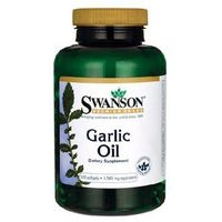 SWANSON Garlic Oil- Olej z czosnku, 500 tabl