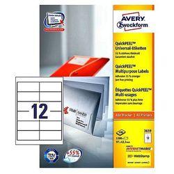 Etykiety biurowe  Avery Zweckform WoJAN