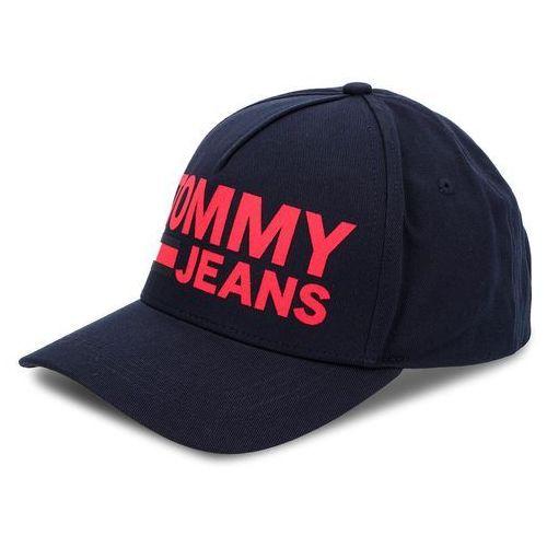 8622d7af6 Tommy jeans Czapka - tju flock print cap au0au00272 413 - zdjęcie Tommy  jeans Czapka -