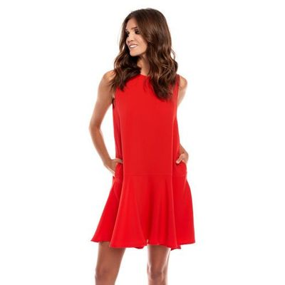 428a3422bb Sukienka camma w kolorze czerwonym marki Sugarfree SUGARFREE