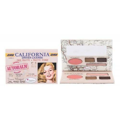 Autobalm california zestaw kosmetyków face palette dla kobiet Thebalm - Znakomita obniżka