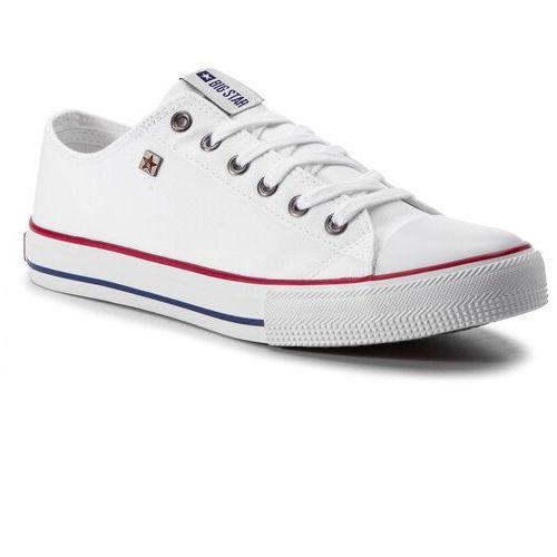 Trampki BIG STAR - DD274A232R36 White, kolor biały