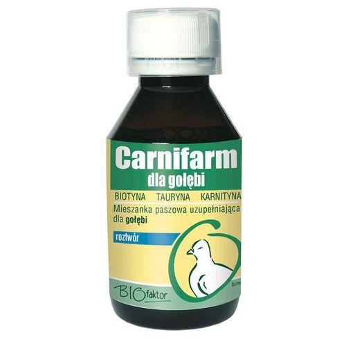 carnifarm - preparat wzmacniający kondycję i odporność dla gołębi - roztwór 100ml marki Biofaktor