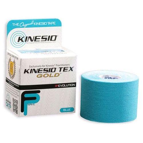 Kinesio Tex Gold FP taśma do tapingu 5cm x 5m - niebieska