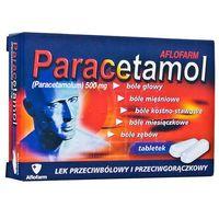 Paracetamol Aflofarm tabl. 0,5 g 20 tabl. (2 blist.po 10 szt.) (5909991014339)