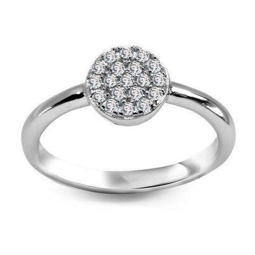 a873e6dab5f782 Scarlett - srebrny pierścionek z cyrkoniami marki Biżuteria yes ...