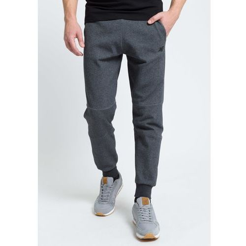 a42572033 Spodnie dresowe męskie SPMD301 - ciemny szary melanż, kolor szary ...