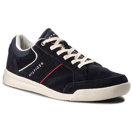 8c936486f7d36 Sneakersy - corporate detail suede sneaker fm0fm01622 midnight 403, Tommy  hilfiger, 40-41
