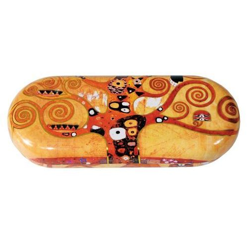 "Etui na okulary ""Klimt - The Tree Of Life"" metalowe"
