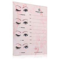 Lash Holder Crystal Lashes - Szeroki - Marmur Pink