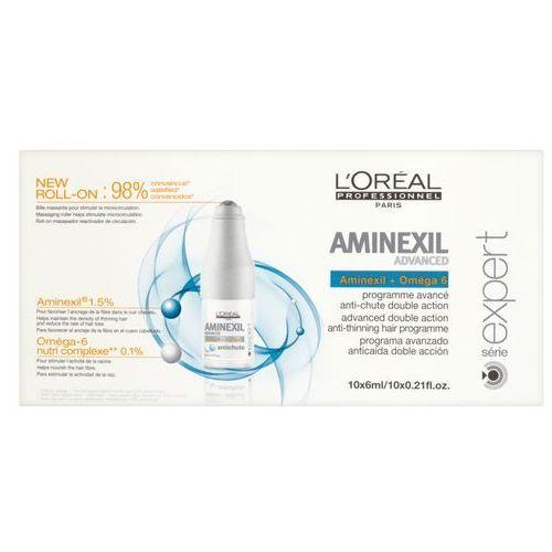 Ampułki L'Oréal Profesionnel Série Expert Aminexil Advanced Treatment kuracja w ampułkach przeciw wypadaniu włosów 10x 6ml