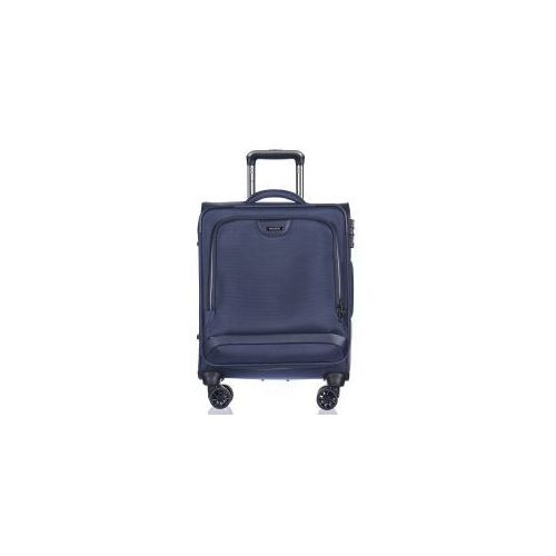 Puccini walizka mała/ kabinowa em50420 z kolekcji copenhagen 4 koła miękka zamek szyfrowy tsa nylon