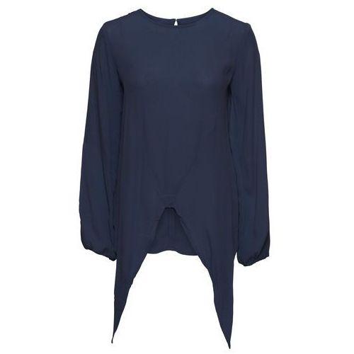 Shirt 2 w 1, rękawy 3/4 bonprix czarny, 1 rozmiar