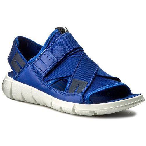 Ecco Sandały - intrinsic sandal 84200355694 mazarine blue/mazarine blue