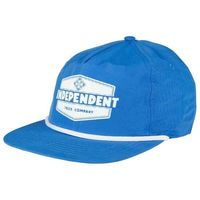 czapka z daszkiem INDEPENDENT - Industry Cap Royal/White (ROYAL-WHITE)