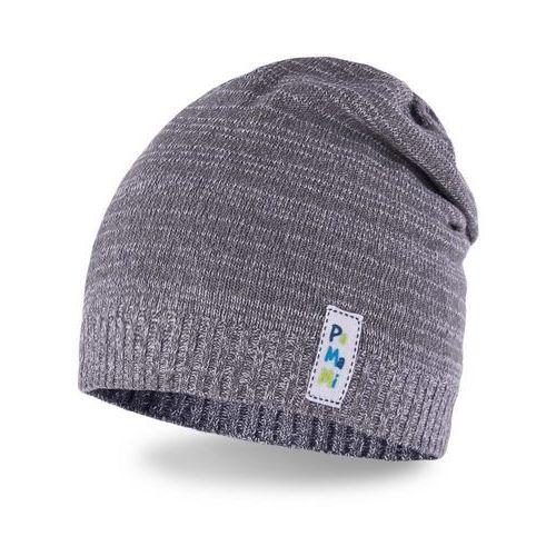 Pamami Wiosenna czapka chłopięca - jasnoszary - jasnoszary