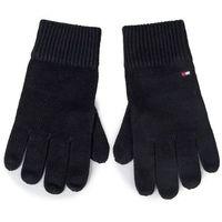 Rękawiczki Męskie TOMMY HILFIGER - Pima Cotton Gloves AM0AM05179 BDS