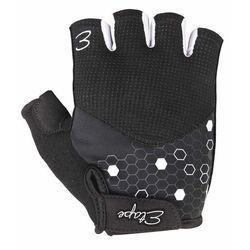 Etape rękawiczki rowerowe damskie betty, czarno-biały l