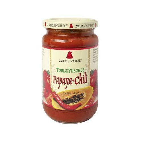 Sos pomidorowy papaya-chillii 350g bio (bezglutenowy) - Zwergenwiese