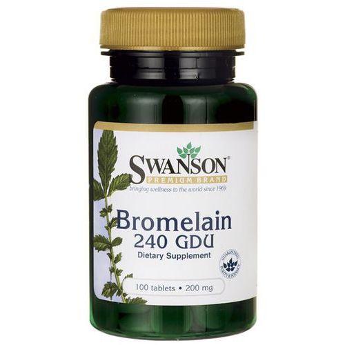 Swanson Bromelina 200mg - (100 tab) (0087614012773)