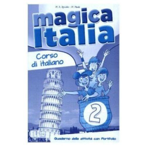 Magica Italia 2 Quaderno delle attivita con Portfolio (2013)