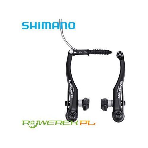 EBRT610FX41SLP Hamulec Shimano Deore BR-T610 V-Brake + klocki S70C czarny