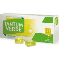Pastylki Tantum Verde smak cytrynowy x 30 pastylek do ssania