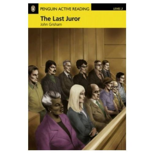 Penguin Active Reading, Poziom 2: The Last Juror Book with Audio CD / CD-ROM (60 str.)