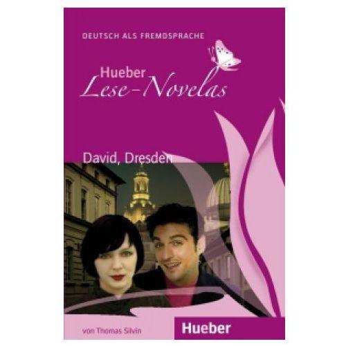 Hueber Hörbucher: Lese - Novelas (A1):: David, Dresden, Leseheft, oprawa miękka