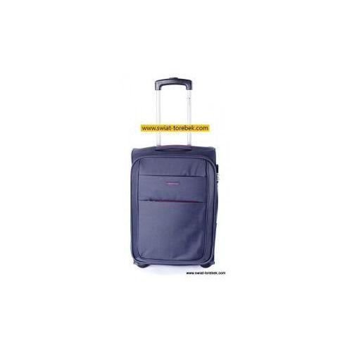 PUCCINI walizka średnia z kolekcji CAMERINO miękka 2 koła materiał Polyester zamek szyfrowy możliwość poszerzenia