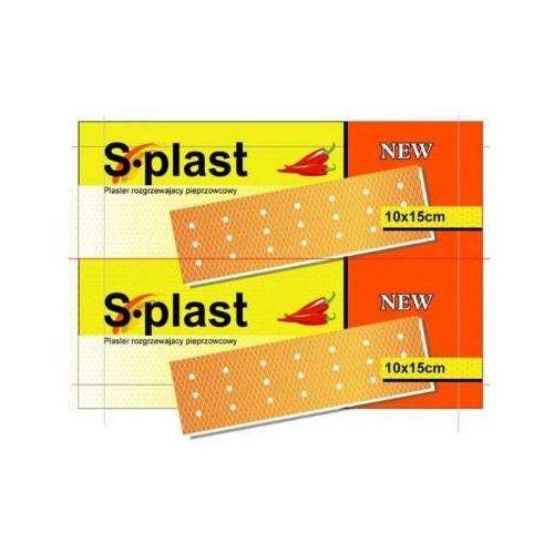 Plaster S-plast rozgrzewający pieprzowcowy x 1 sztuka