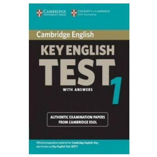 Cambridge Key English Test 1 Student&-8217;s Book with answers, Cambridge University Press