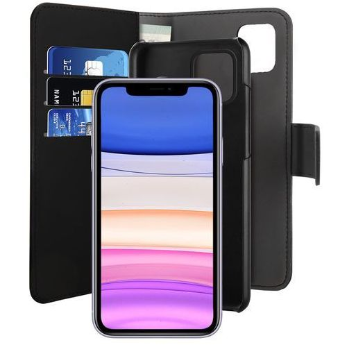 Puro Wallet Detachable - Etui 2w1 iPhone 11 (czarny), 10_14552
