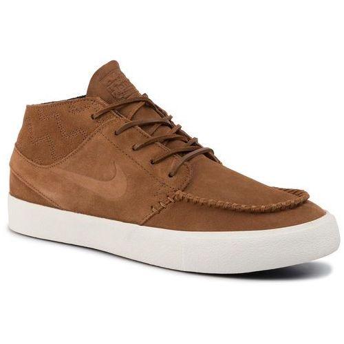 Nike Buty - zoom janoski mid rm crafted aq7460 201 lt british tan/lt british tan