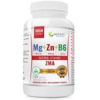 ZMA Magnez+Cynk+B6 Mega Dawka 120 kapsułek (5905279219564)
