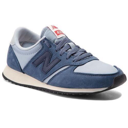 Sneakersy - u420ibg granatowy niebieski, New balance, 36-46.5