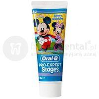 pro-expert stages miki 75ml - pasta z fluorem dla dzieci marki Oral-b