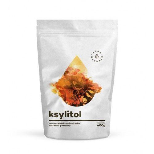 Ksylitol fiński - naturalny słodzik - 400g - Aura Herbals
