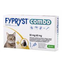 Krka Fypryst combo 50 mg/60 mg 3 pipety koty