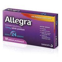 ALLEGRA 120mg x 10 tabletek