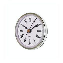 Wkładka zegarowa srebrna 65mm