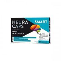 Kapsułki NeuraCaps Smart, 10 kapsułek - Długi termin ważności! DARMOWA DOSTAWA od 39,99zł do 2kg!