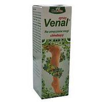 Venal Spray chłodzący na przemęczone nogi, opuchnięcia, siniaki 115 ml