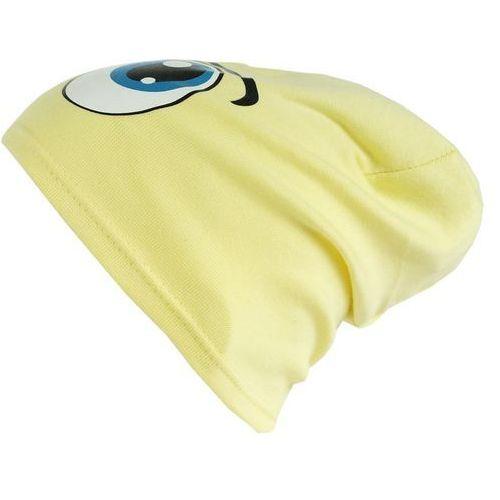 Czapka dziecięca bawełna oczy beanie krasnal ciamajda - cd06-3 marki Tara