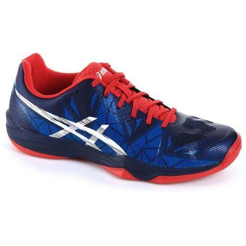 Asics Gel-Fastball 3 Blue White Red, kolor niebieski