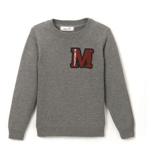 Sweter w studenckim stylu 3-12 lat La redoute collections