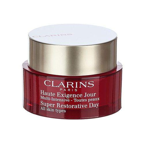 Clarins super restorative ujędrniający krem na dzień do wszystkich rodzajów skóry (day illuminating lifting replenishing cream for all skin types) 50 (3380811094106)