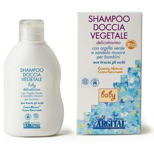 Łagodny szampon do mycia ciała i włosów dla dzieci i niemowląt Argital