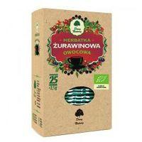 Herbata Żurawinowa fix BIO 25*2,5g DARY NATURY (5902581617873)
